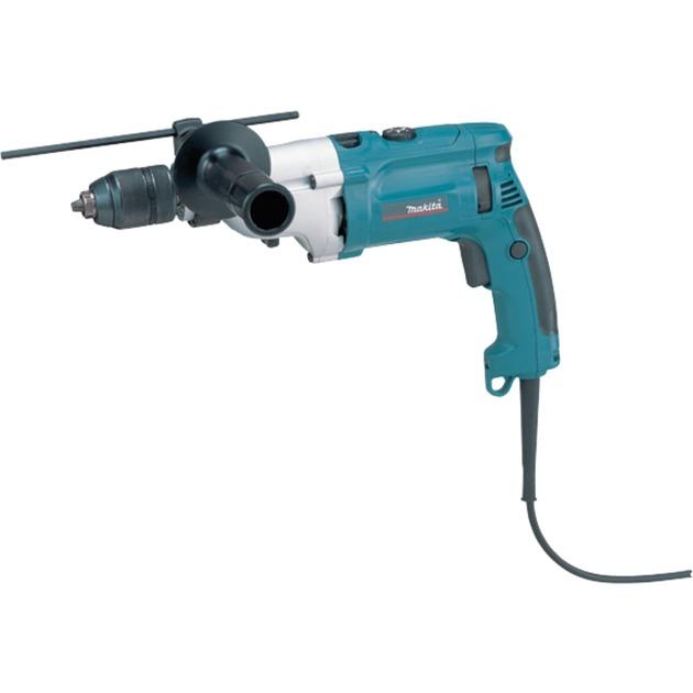 HP2071FJ 2900RPM Sin llave 1010W 2500g Negro, Azul taladro eléctrico, Taladradora de impacto