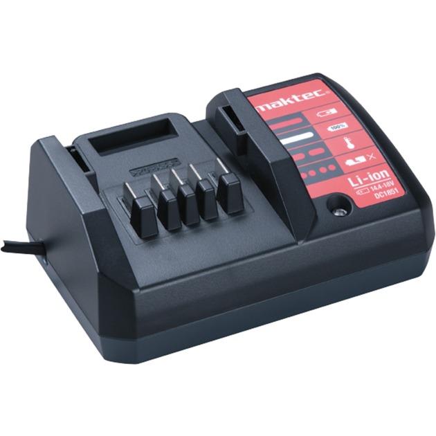 DC1851 Cargador de baterías para interior Negro cargador de batería
