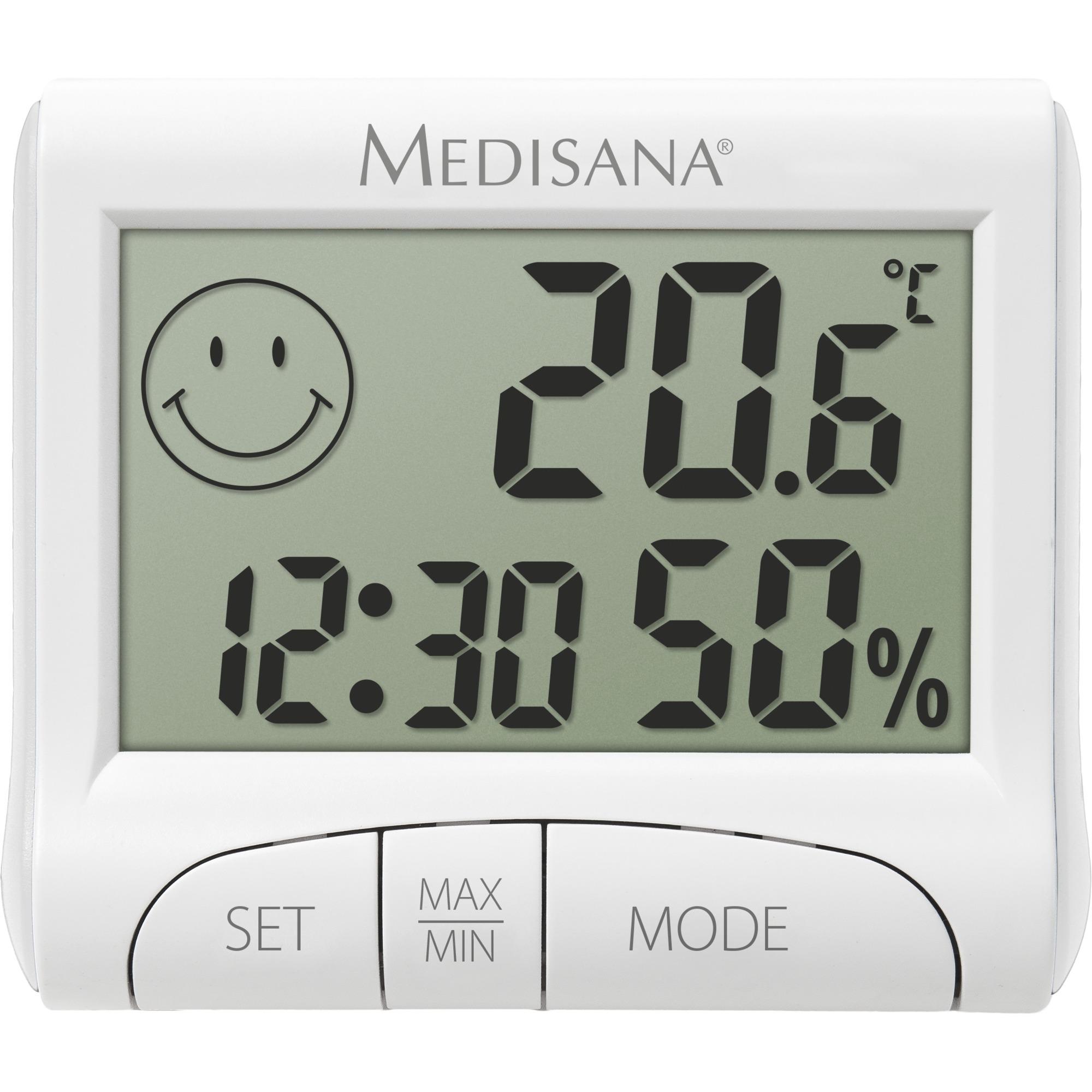 HG 100 Interior Electronic hygrometer Blanco, Estación meteorológica