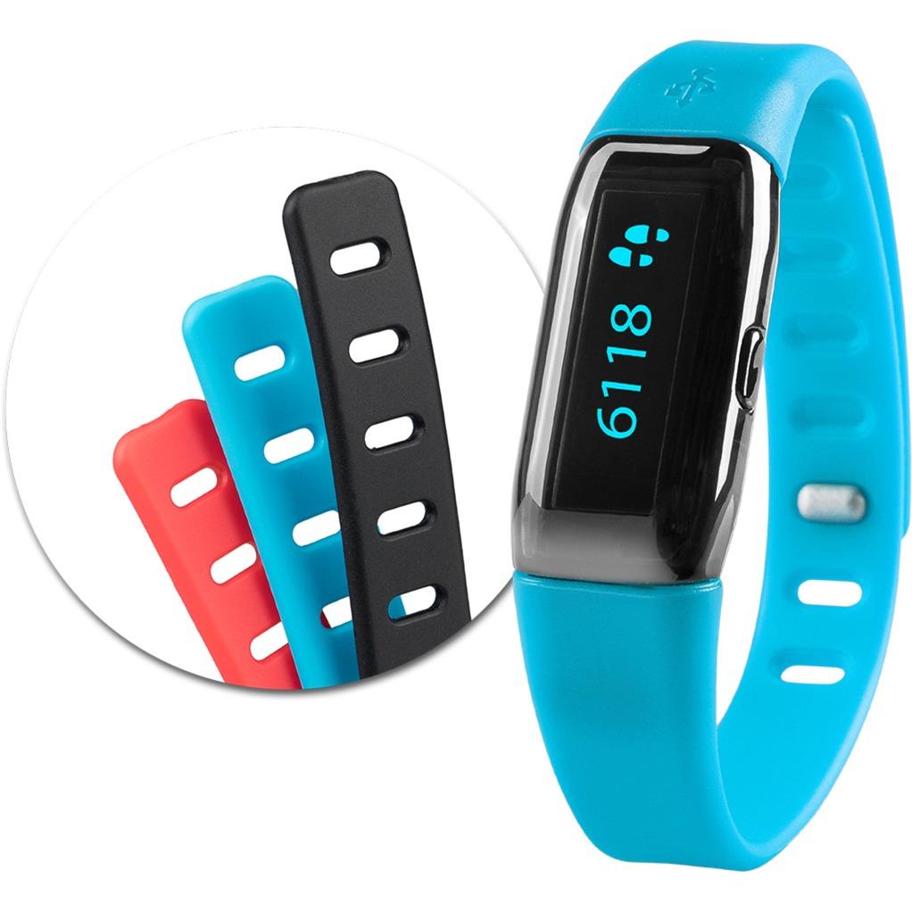 ViFit MX3 Armband activity tracker Negro OLED Inalámbrico, Control de actividad