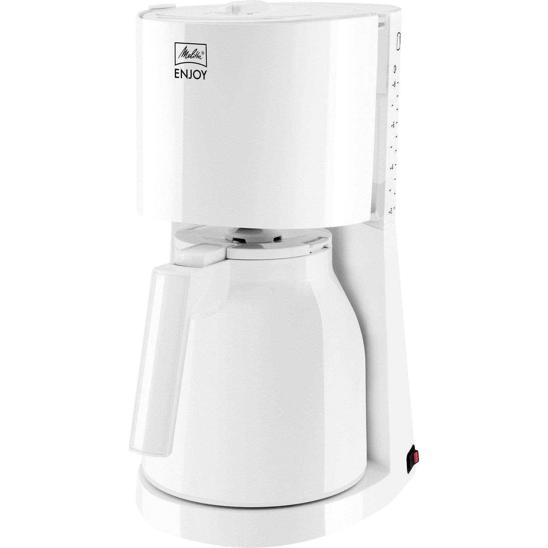 1017-05 Independiente Cafetera de filtro Blanco 8 tazas