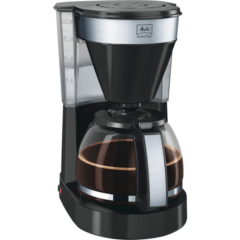 1023-04 Easy II Independiente Cafetera de filtro Negro 10 tazas Totalmente automática