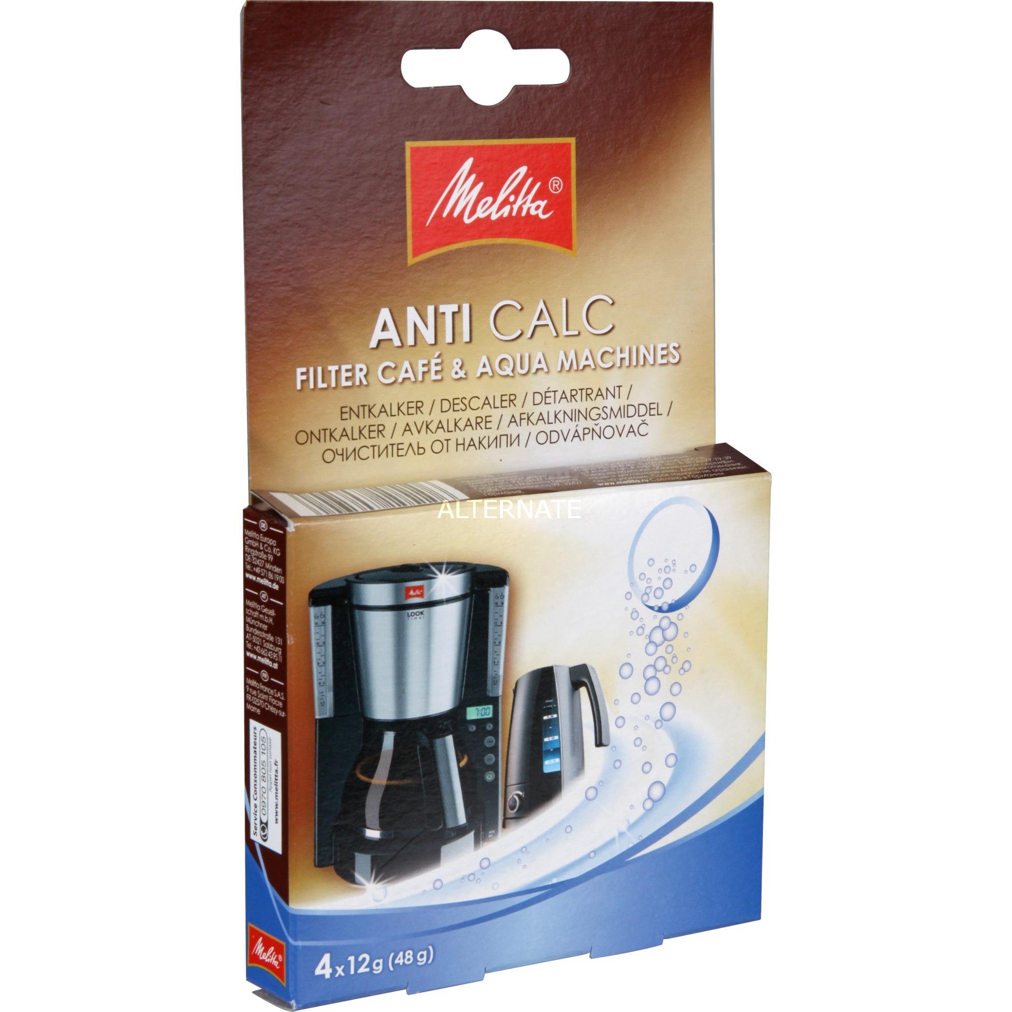 ANTI CALC Café Machines Liquid descalers Electrodomésticos 250 ml, Descalcificador