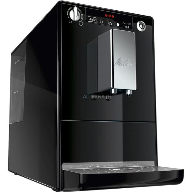 CAFFEO SOLO Independiente Totalmente automática Máquina espresso 1.2L Negro, Máquina de café
