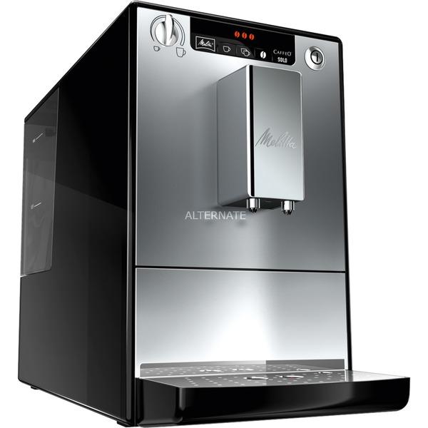 Caffeo Solo Independiente Totalmente automática Máquina espresso 1.2L Plata, Superautomática