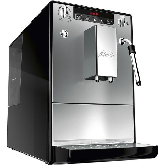 E 953-102 cafetera eléctrica Independiente Máquina espresso Plata 1,2 L Totalmente automática, Superautomática