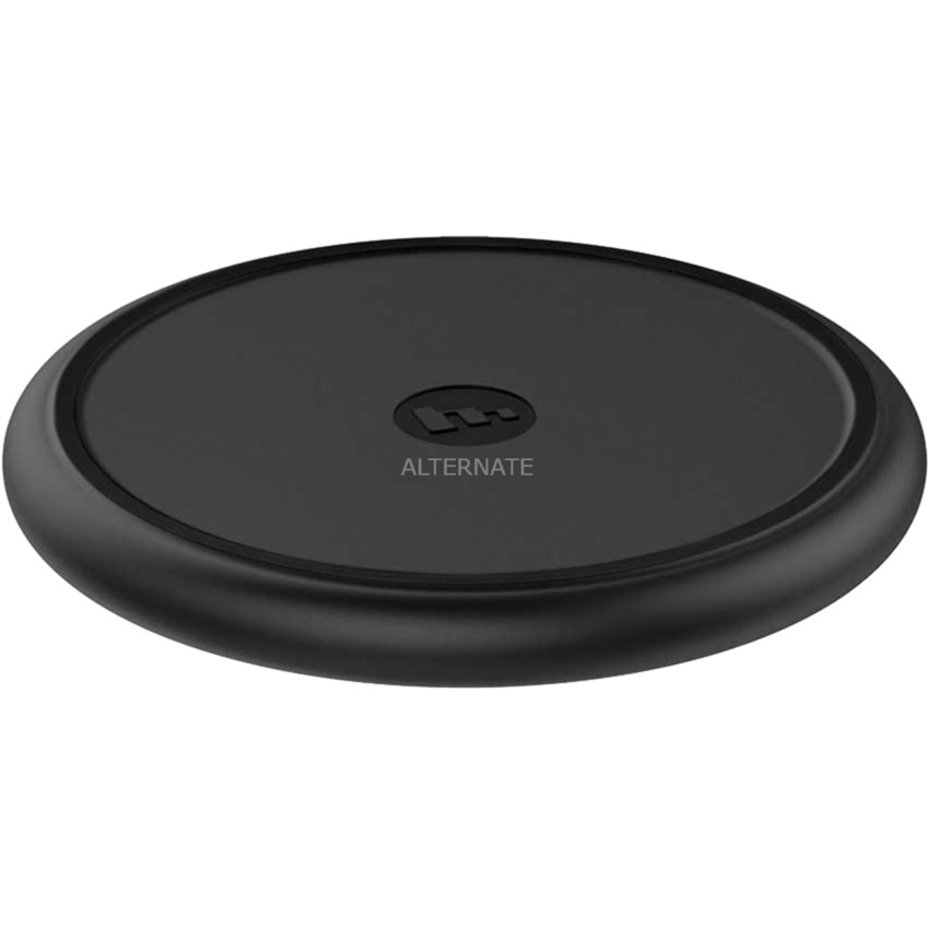 Wireless Charge Base Negro cargador de dispositivo móvil