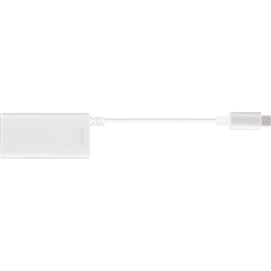 99MO084203 adaptador de cable USB-C RJ-45, USB-A Blanco
