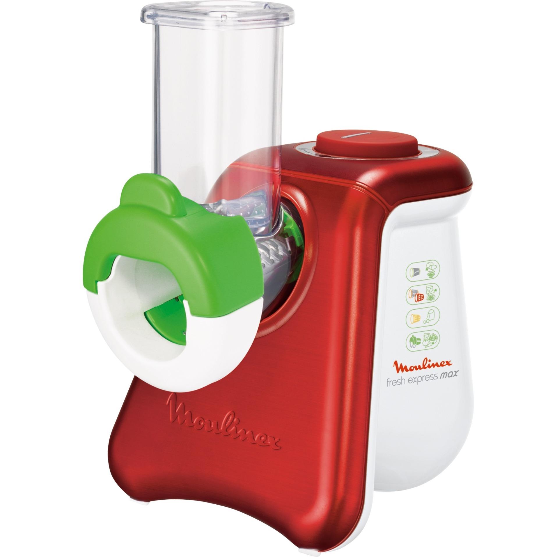 DJ8115 Rojo, Color blanco rallador eléctrico, Trituradora
