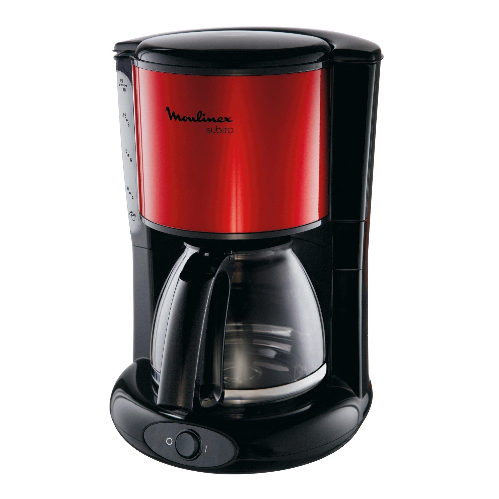 Subito Encimera Cafetera de filtro 1,25 L Manual