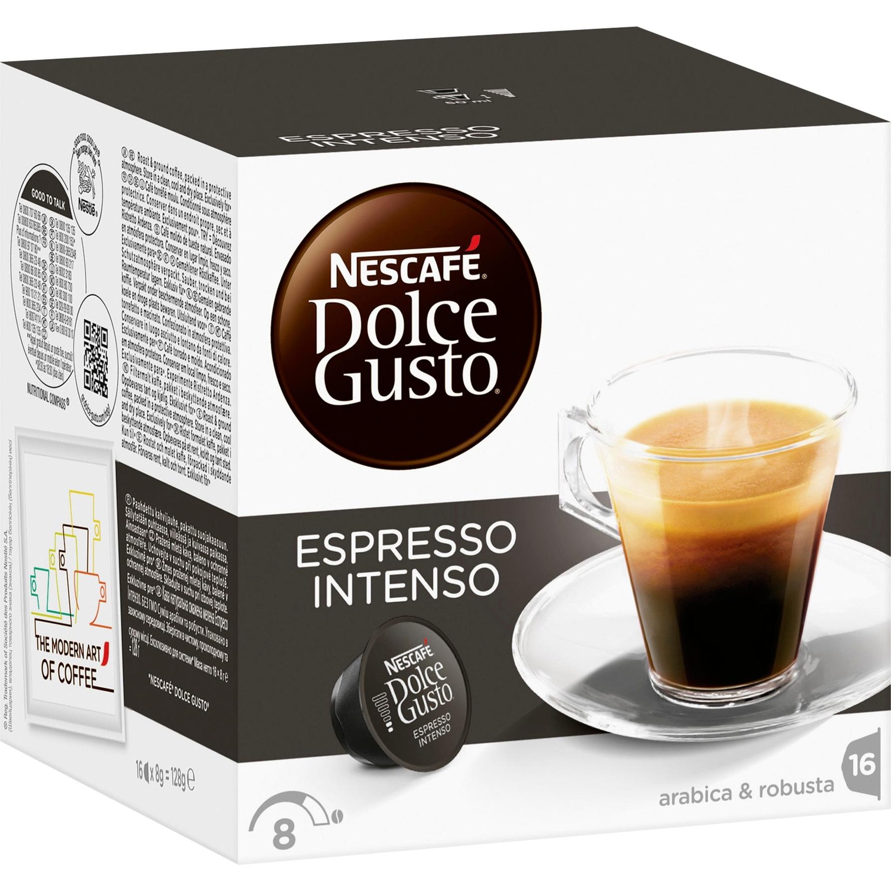 Dolce Gusto Intenso café instantáneo, Cápsula de bebida