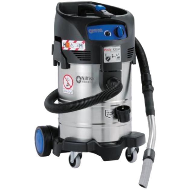 ATTIX 40-0M TYPE 22 37L 1400W Negro, Azul, Acero inoxidable, Aspiradora en húmedo y en seco