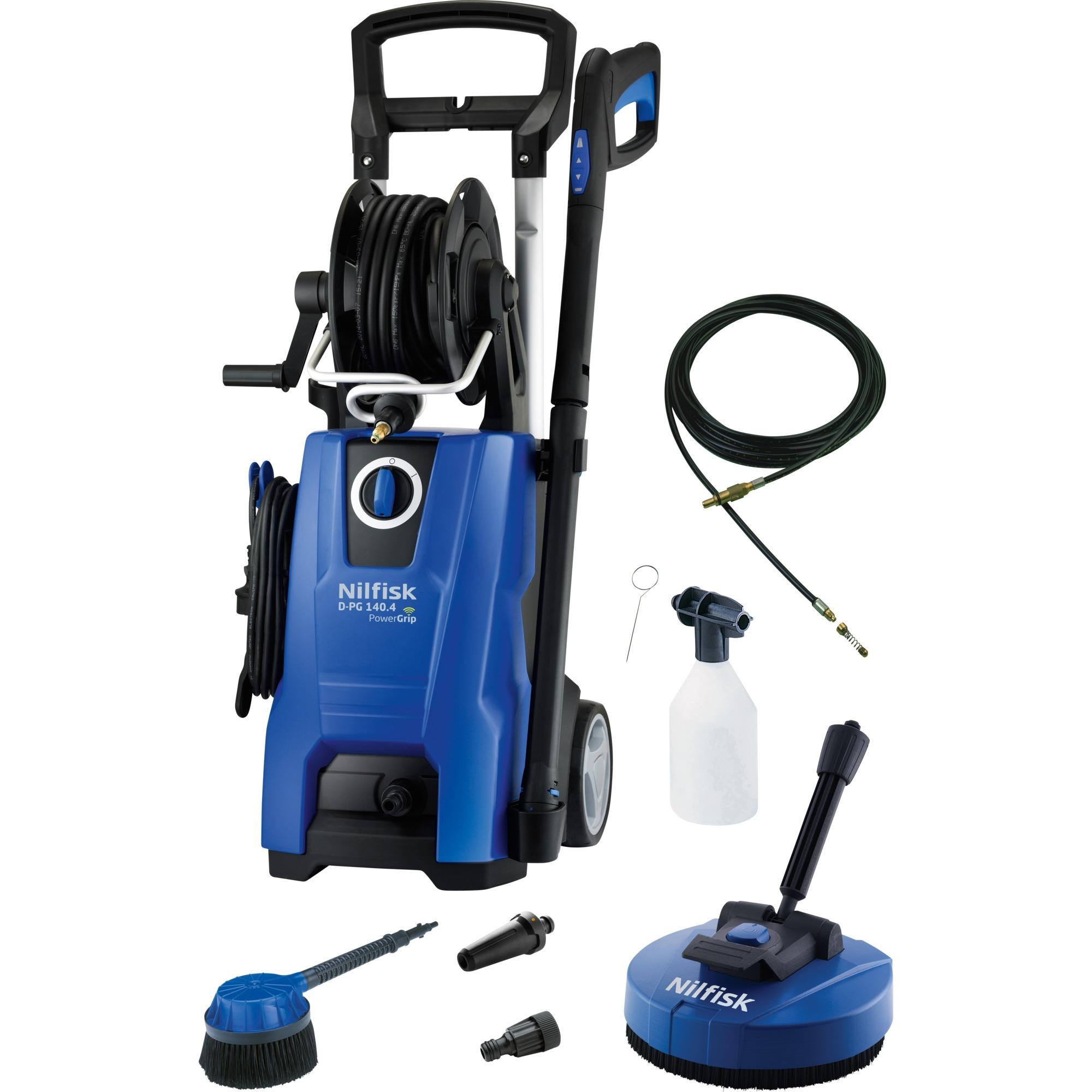 D 140.4-9 PAD X-TRA Vertical Eléctrico 500, 450l/h 2400W Negro, Azul Limpiadora de alta presión o Hidrolimpiadora, Hidrolimpiadora de alta presión