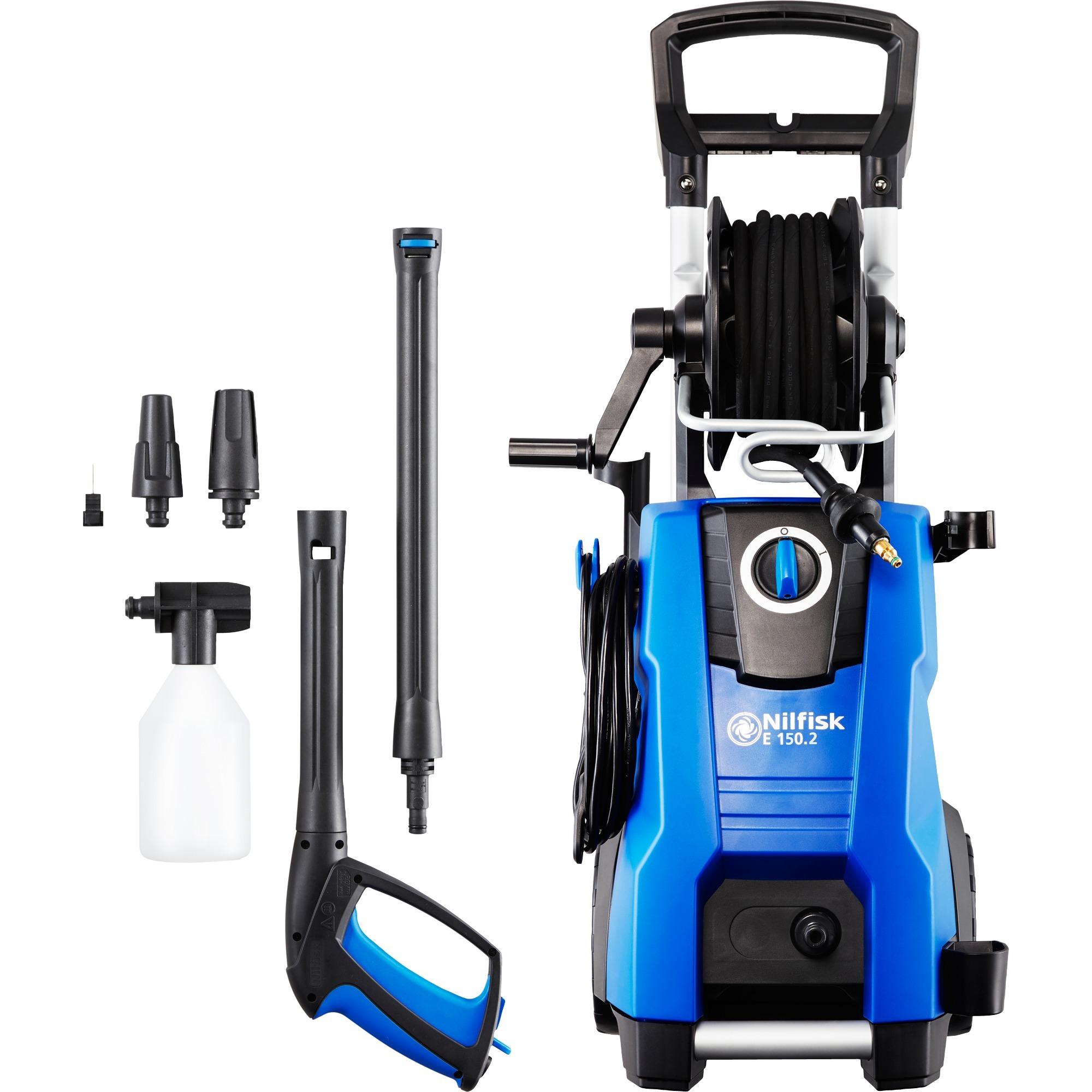 E 150.2 Compacto Eléctrico 500l/h 2100W Negro, Azul Limpiadora de alta presión o Hidrolimpiadora, Hidrolimpiadora de alta presión