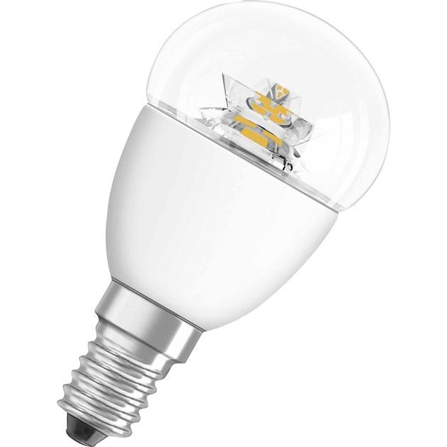 PARATHOM CLASSIC P 6W E14 A+ Blanco cálido lámpara LED