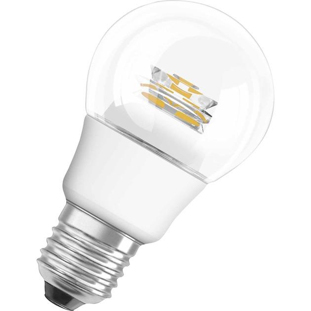 PARATHOM CLASSIC P 6W E27 A+ Blanco cálido lámpara LED