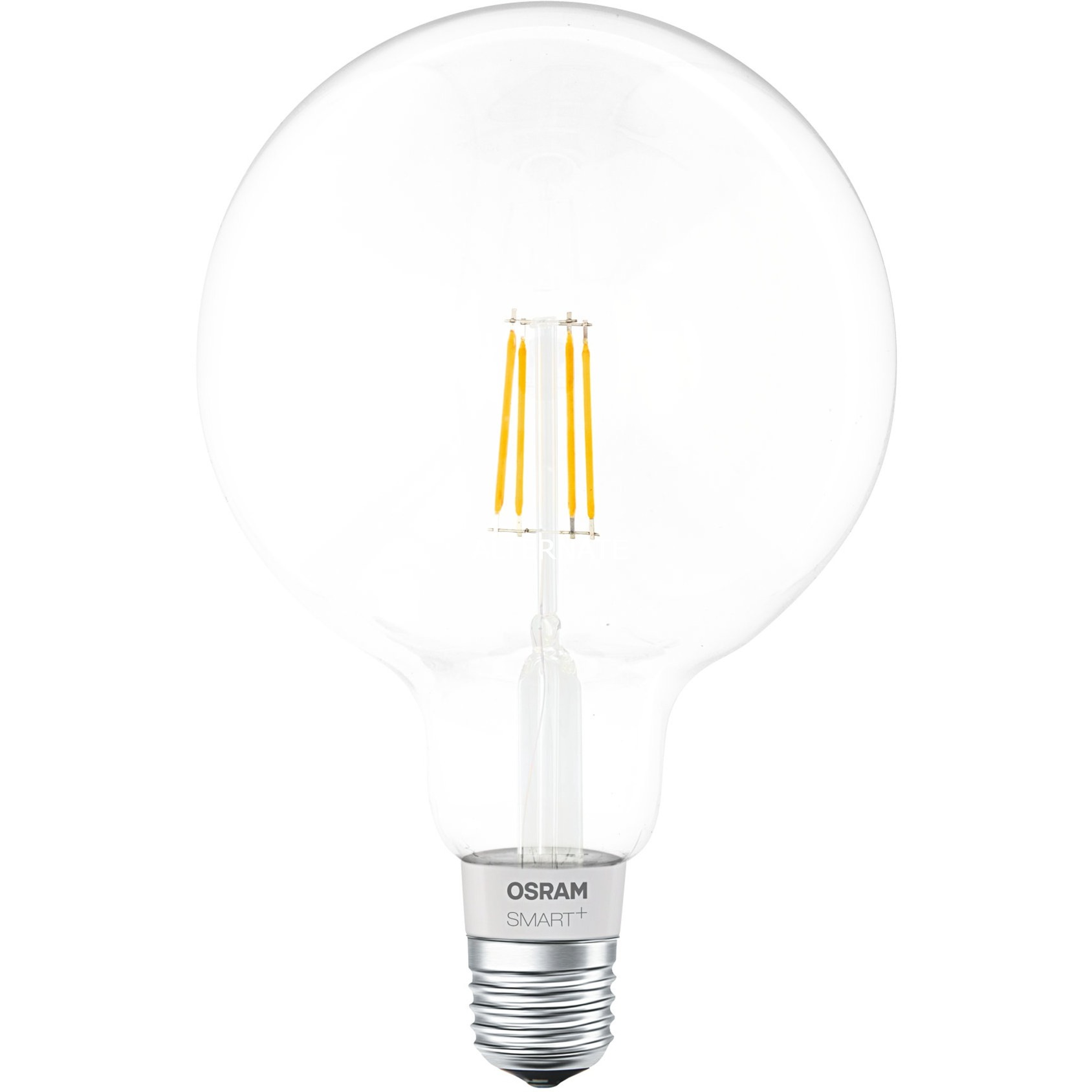 Smart + Filament Globe Bombilla inteligente Bluetooth 5,5 W, Lámpara LED