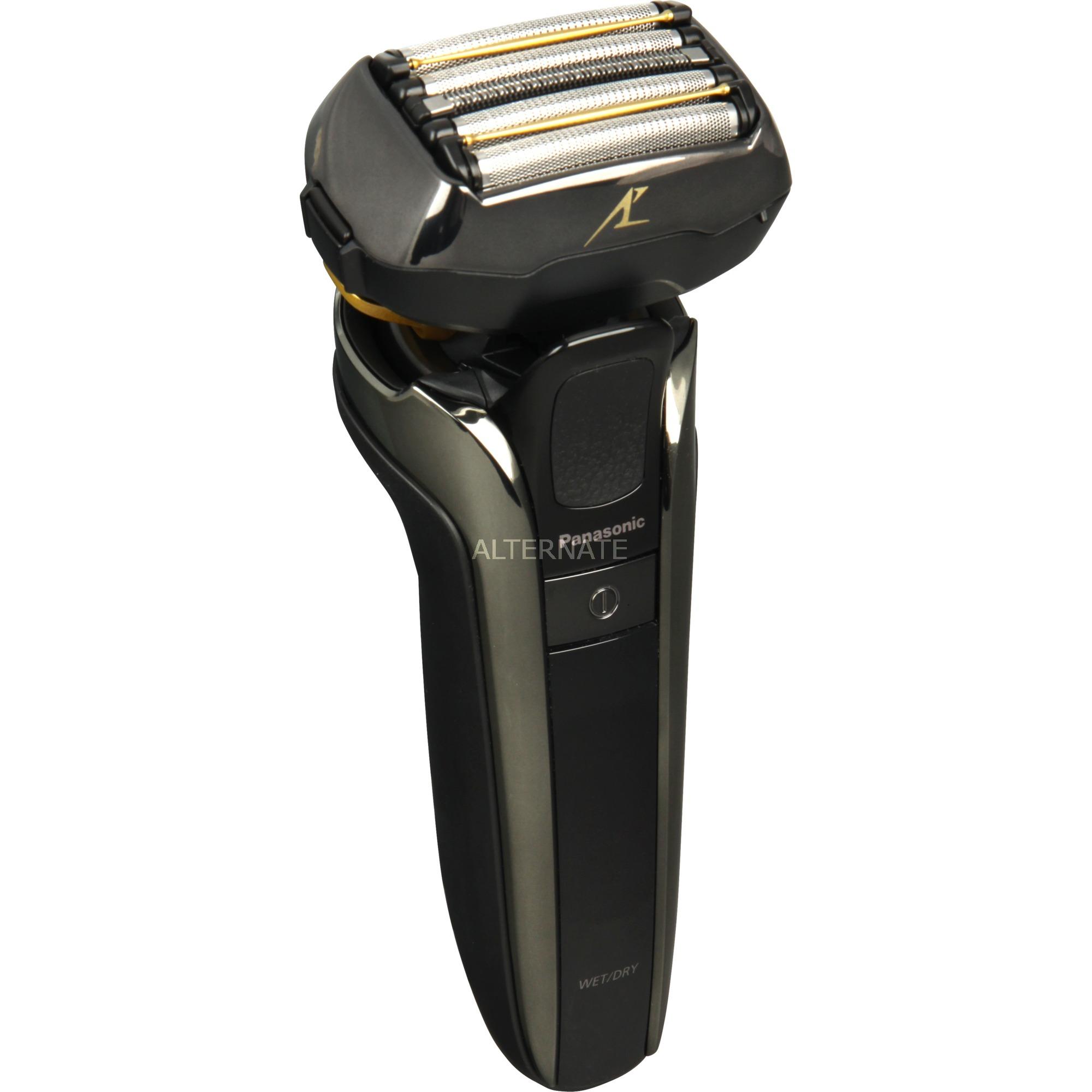 ES-LV6Q-S803 afeitadora Máquina de afeitar de láminas Negro, Acero inoxidable