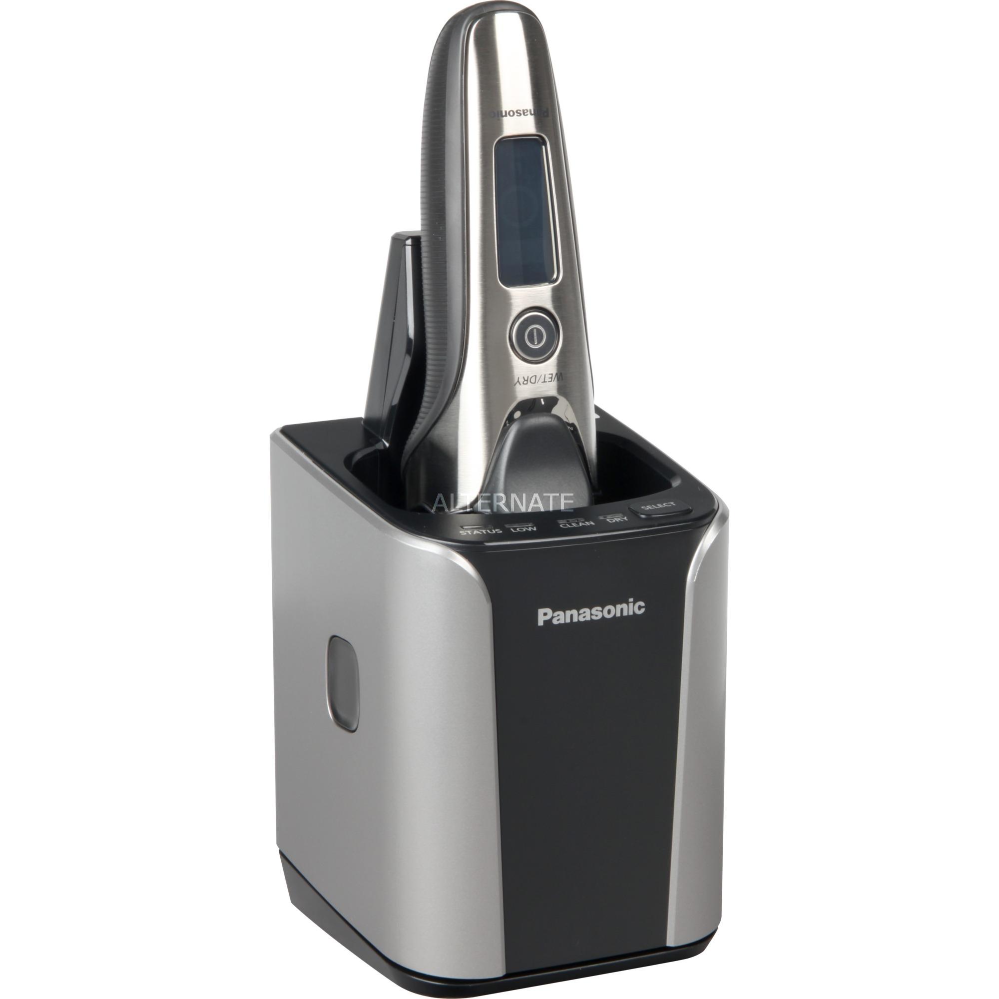 ES-LV9N afeitadora Máquina de afeitar de láminas Recortadora Negro, Plata