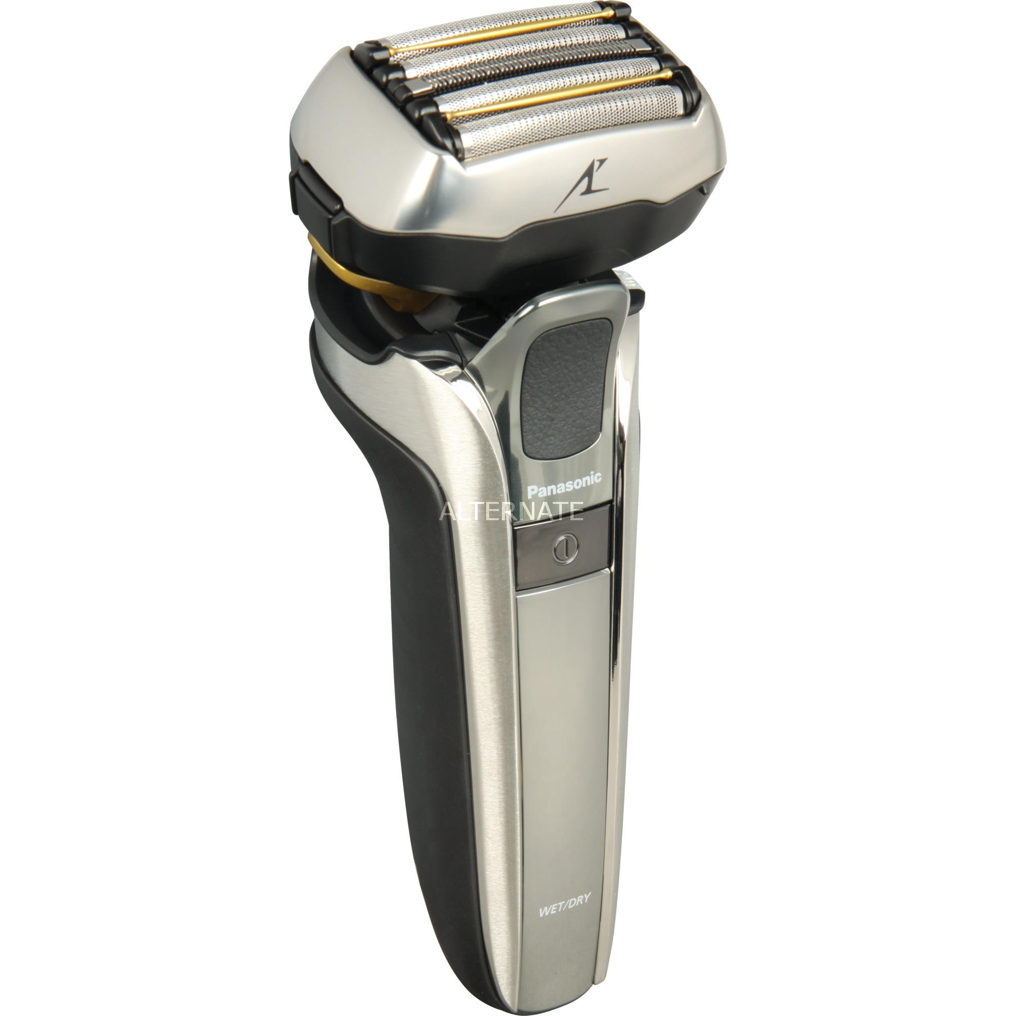 ES-LV9Q-S803 afeitadora Máquina de afeitar de láminas Negro, Plata