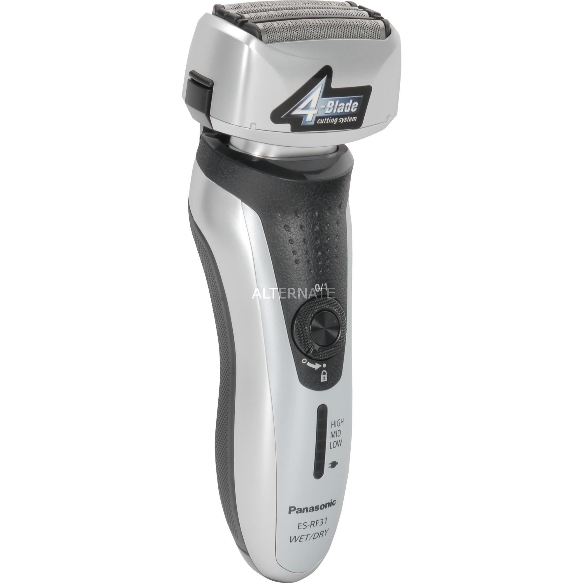 ES-RF31 Máquina de afeitar de láminas Recortadora Plata afeitadora
