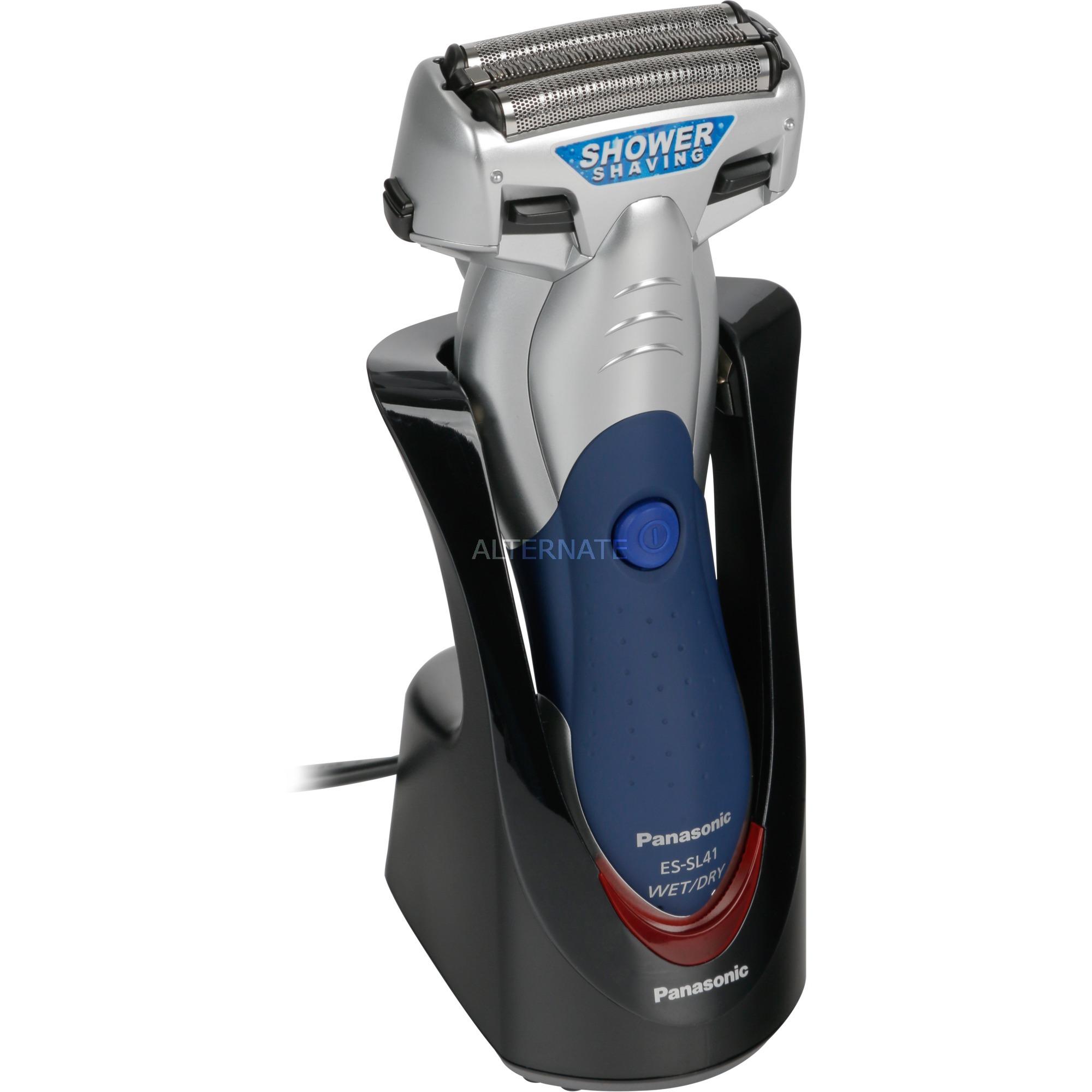 ES-SL41 Máquina de afeitar de láminas Recortadora Azul, Plata afeitadora