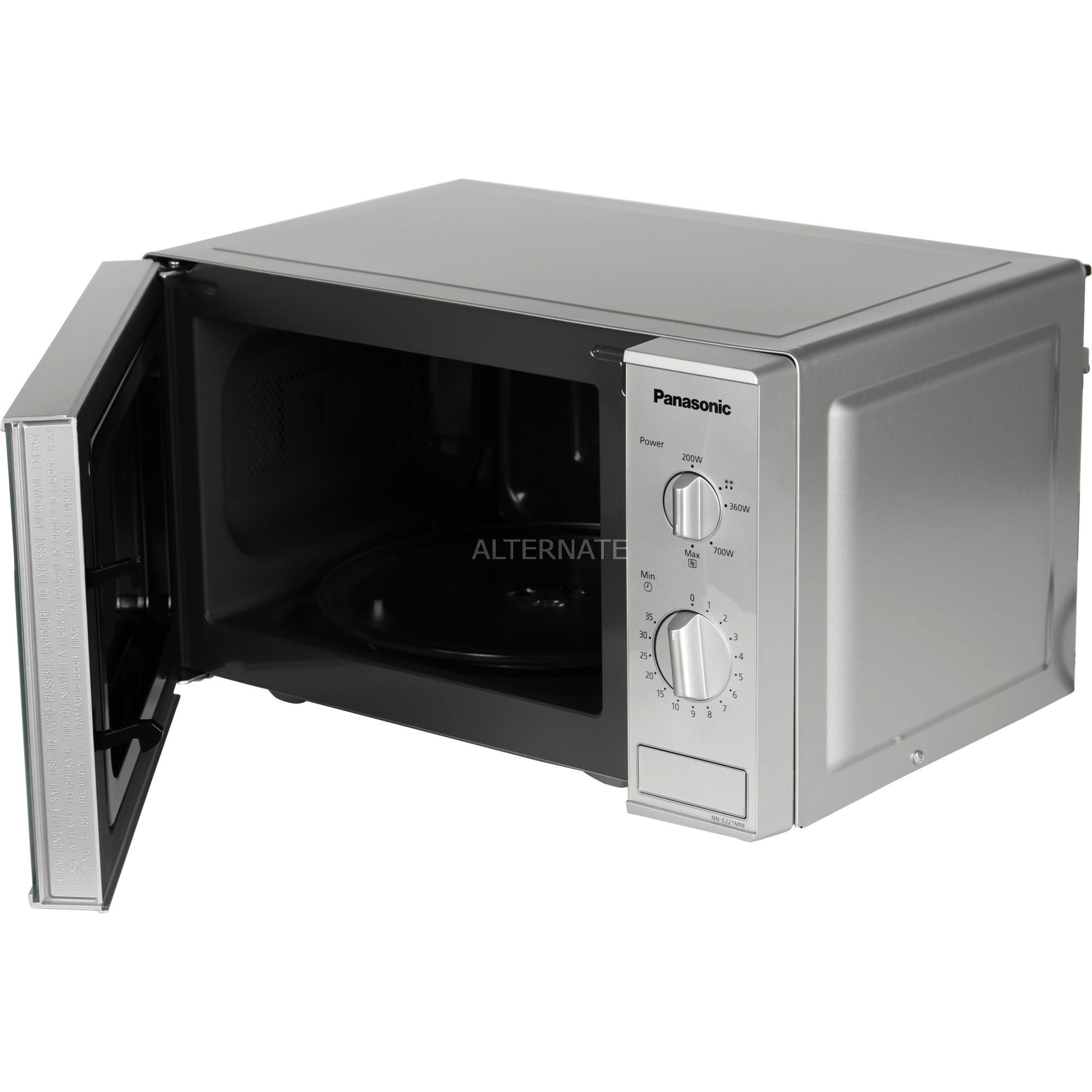 NN-E221M microondas Encimera Solo microondas 20 L 800 W Gris