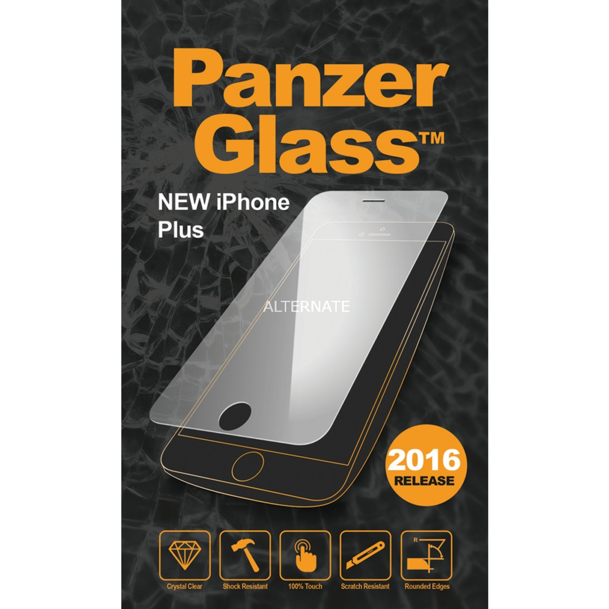 2004 Clear screen protector iPhone 7 Plus protector de pantalla, Película protectora