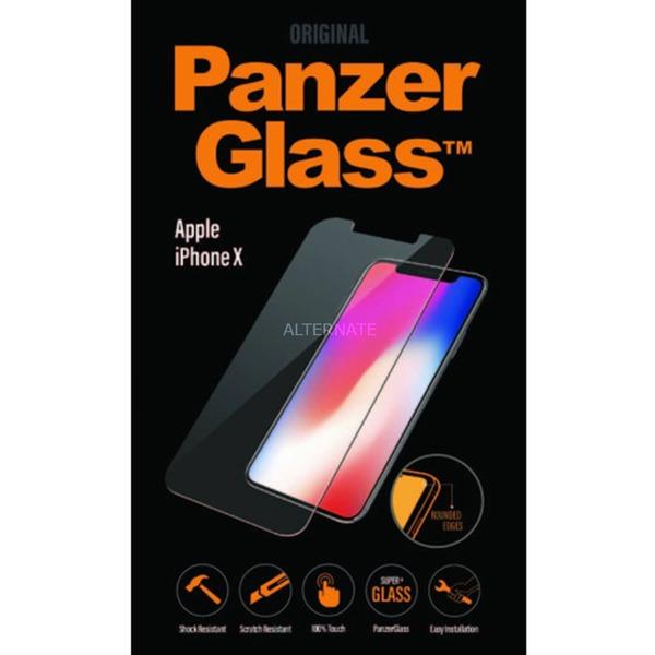 2622 protector de pantalla iPhone X 1 pieza(s), Película protectora