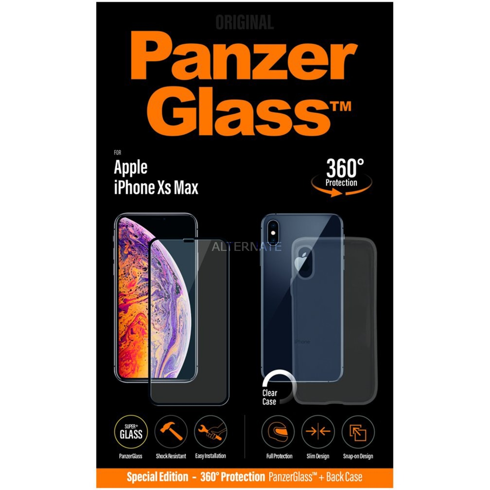 2644 protector de pantalla iPhone Xs Max 1 pieza(s), Película protectora