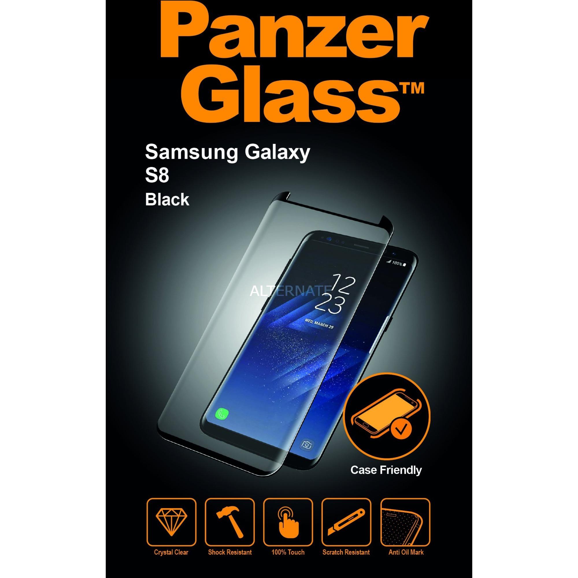 7122 protector de pantalla Galaxy S8 1 pieza(s), Película protectora