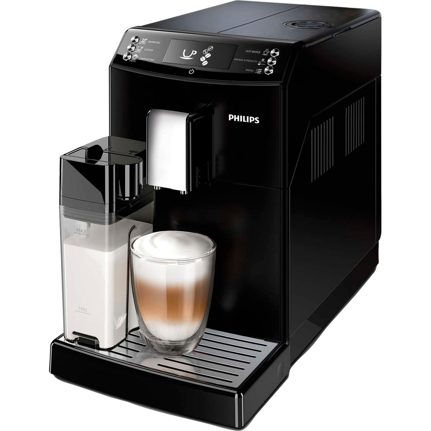 3100 series EP3550/00 cafetera eléctrica Independiente Máquina espresso Negro 1,8 L Totalmente automática, Superautomática