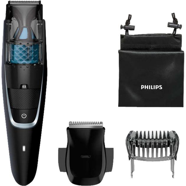 BEARDTRIMMER Series 7000 BT7205/15 depiladora para la barba Negro, Cortapelo para barba