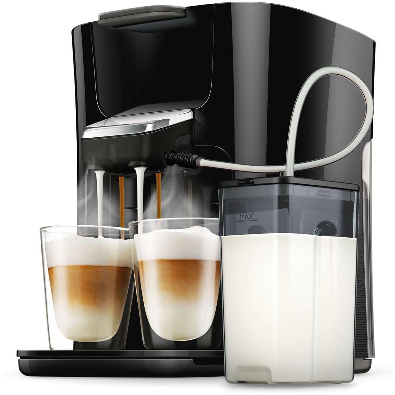 HD6570/60 Independiente Totalmente automática Máquina de café en cápsulas 1L Negro cafetera eléctrica, Cafetera monodosis