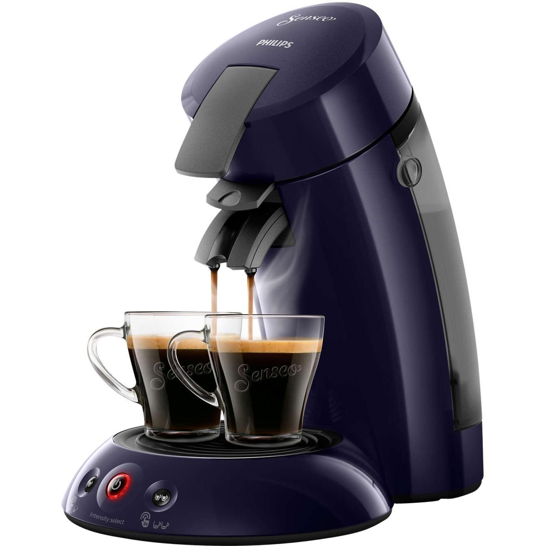 Original HD6554/40 Independiente Semi-automática Máquina de café en cápsulas 0.7L Azul cafetera eléctrica, Cafetera monodosis