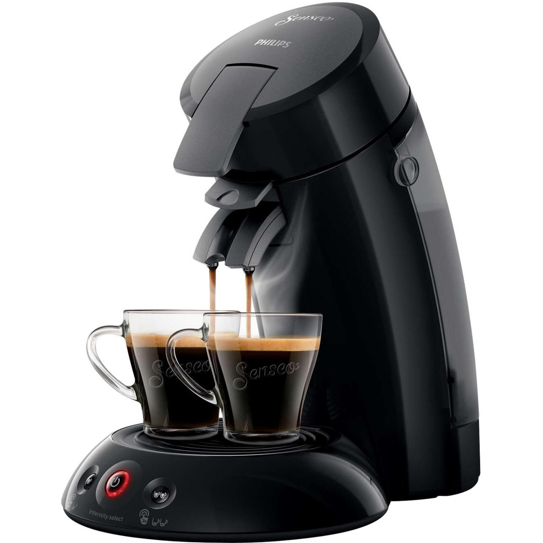 Original HD6554/60 Independiente Semi-automática Máquina de café en cápsulas 0.7L Negro cafetera eléctrica, Cafetera monodosis