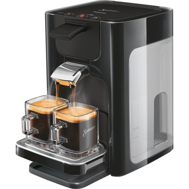 Quadrante HD7865/60 cafetera eléctrica Independiente Máquina de café en cápsulas Negro 1,2 L 8 tazas, Cafetera monodosis