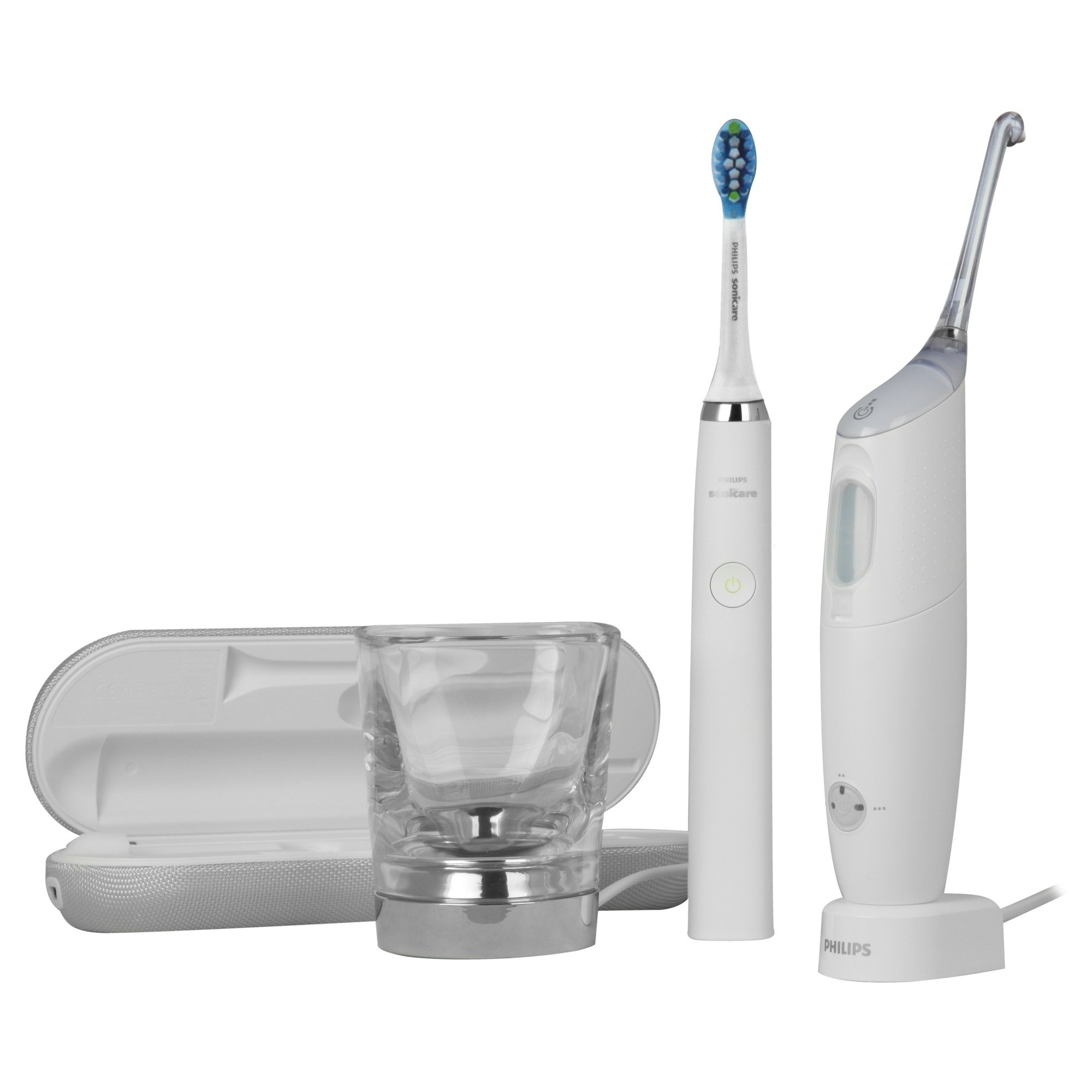 Sonicare HX8492/01 hilo dental eléctrico Blanco, Limpieza bucal