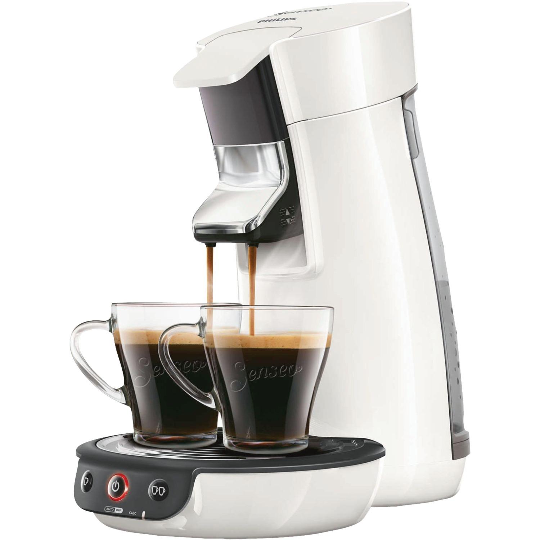 Viva Café HD7829/00 Independiente Máquina de café en cápsulas 0.9L 6tazas Blanco cafetera eléctrica, Cafetera monodosis