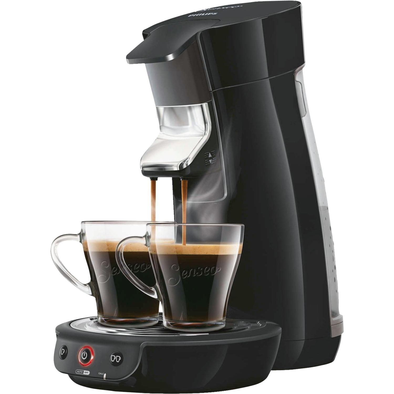 Viva Café HD7829/60 Independiente Máquina de café en cápsulas 0.9L 6tazas Negro cafetera eléctrica, Cafetera monodosis