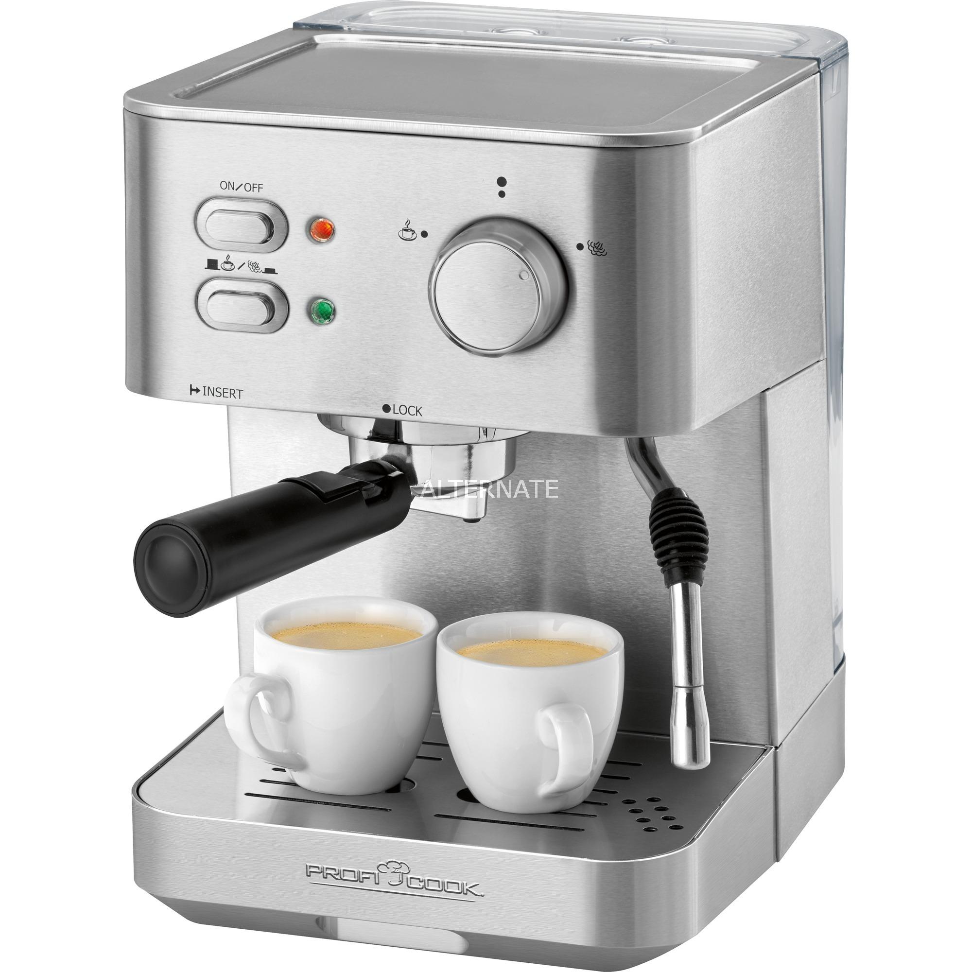 PC-ES 1109 Encimera Máquina espresso 1,5 L, Cafetera espresso