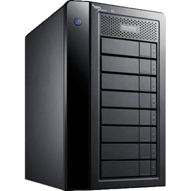 Pegasus2 R8 Negro unidad de disco multiple, Caja de unidades