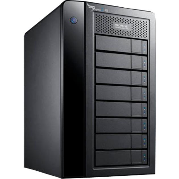 Pegasus2 R8 unidad de disco multiple 48 TB Torre Negro, Unidad de disco duro