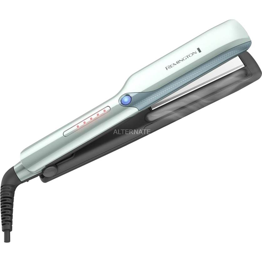 S8700 Plancha caliente para el cabello Negro, Gris alisador de cabello, Plancha...