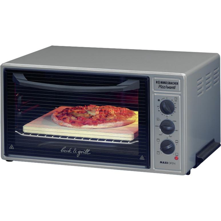 BG 1600 horno tostador Antracita, Gris Parrilla, Mini horno