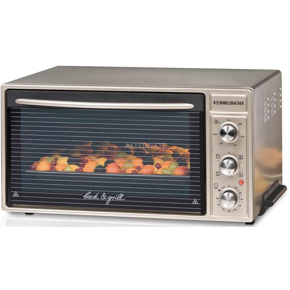 BG 1650 horno tostador Champán, Metálico Parrilla, Mini horno