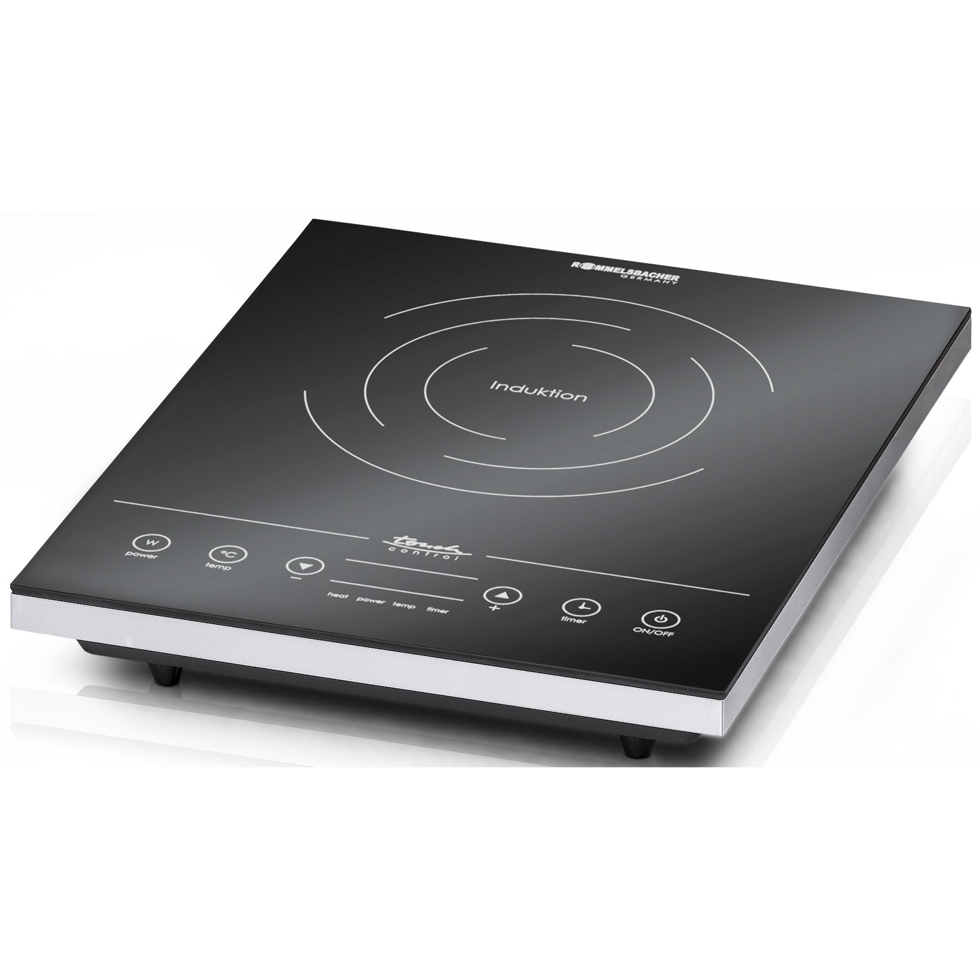 CT 2010/IN hobs Mesa Con placa de inducción Negro, Blanco, Placa de cocción