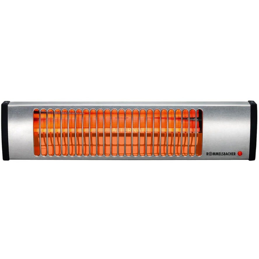 IW604/E Calentador de cuarzo Acero inoxidable, Calentador radiante