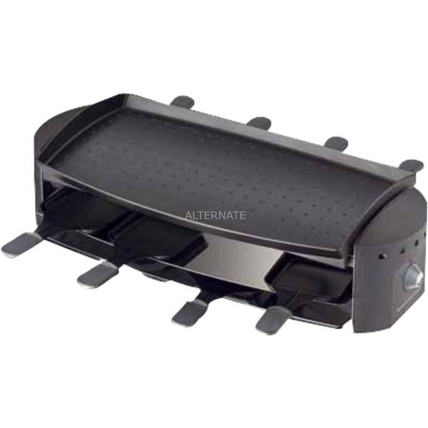 RC 1200 8personas(s) 1200W Negro, Acero inoxidable raclett eléctrico, Raclette