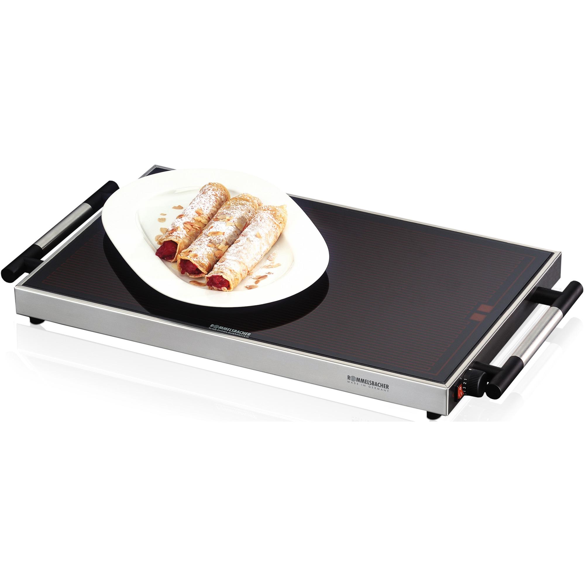 WPR 305/E calentador de alimentos 300 W Acero inoxidable, Calientaplatos